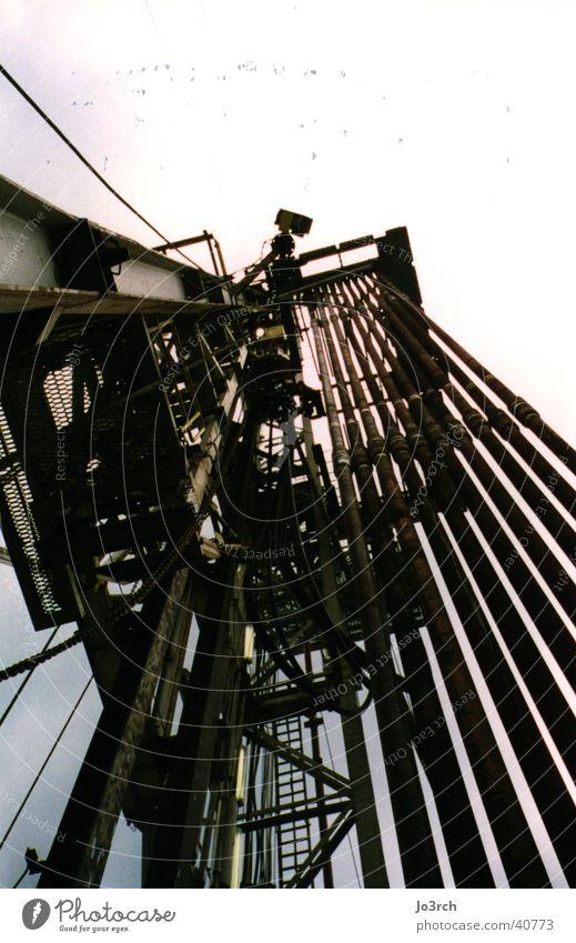 Bohrgestänge 1 Industrie Erdöl Gas Durchbruch Erdgas fördern