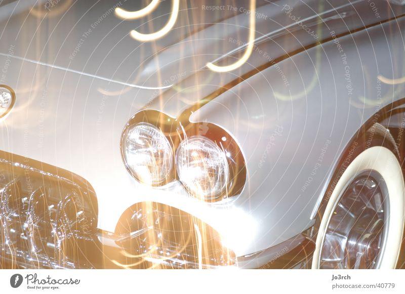 Auto Langzeitbelichtung 5 Licht Dinge PKW Lichtreflektionen