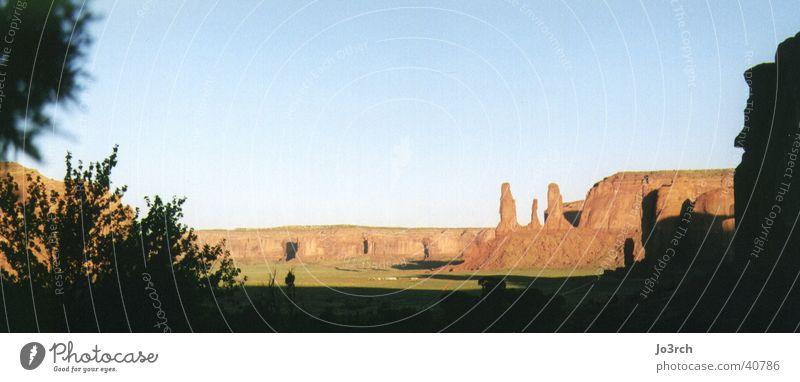 Monument Valley am Morgen USA Cowboy Wildnis Zigarettenmarke Naturschutzgebiet Utah