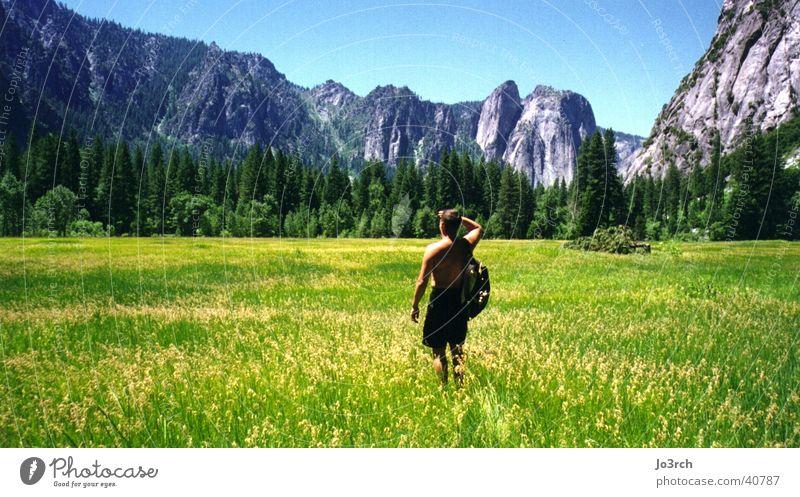 Weitblick Ferien & Urlaub & Reisen Wiese Berge u. Gebirge wandern USA Amerika