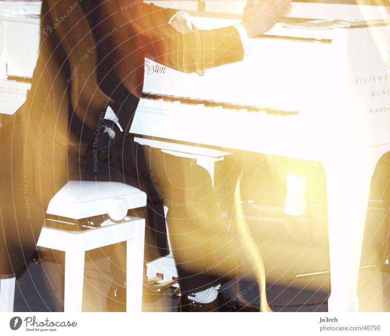 Pianospieler Mann Musik Klavier
