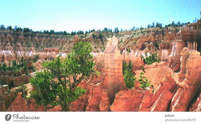 Bryce Canion Utah Naturschutzgebiet Cowboy Wildnis Zigarettenmarke Berge u. Gebirge Monument Valley South West Landscape USA