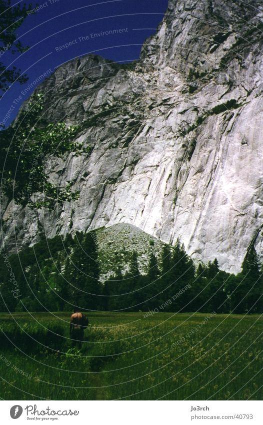Der Berg Ferien & Urlaub & Reisen Wiese Berge u. Gebirge wandern USA Amerika