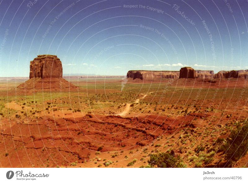 Monument Valley 2 USA Cowboy Wildnis Zigarettenmarke Naturschutzgebiet Utah Monument Valley