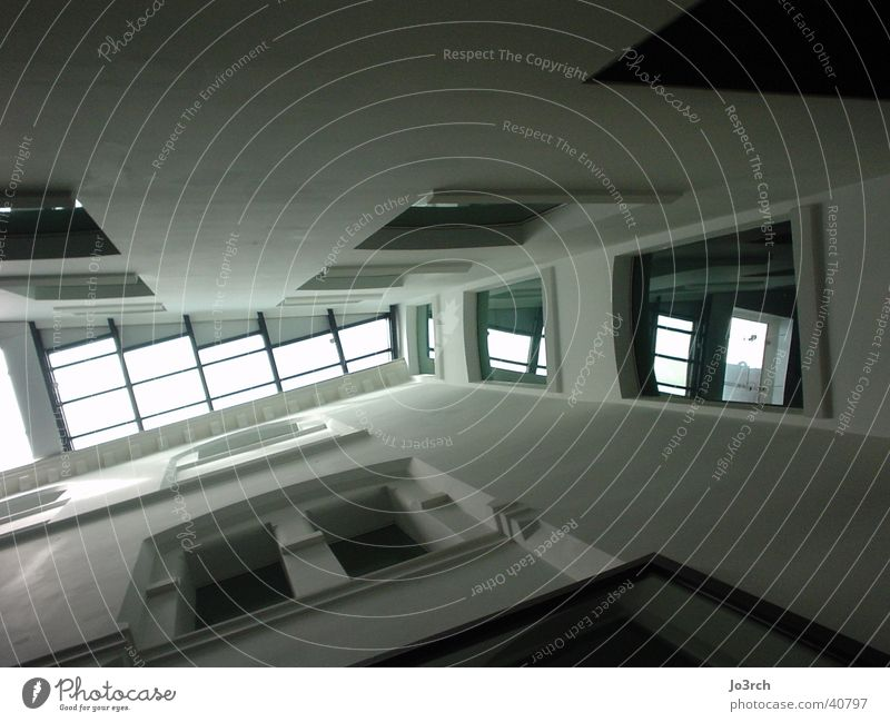 Perspektive Licht Fenster Etage Architektur Alt und Neu