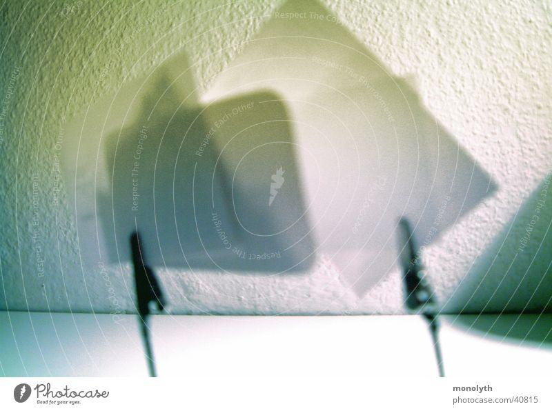 Geklammerte Zettel Denkzettel Klammer Schreibtisch