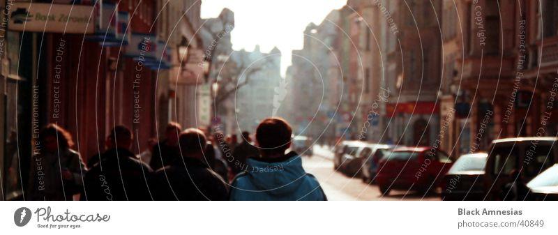 In den Straßen von Torun Mensch Himmel Ferien & Urlaub & Reisen Menschengruppe PKW Polen