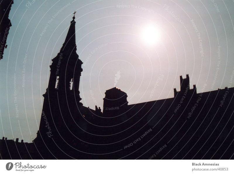 Habemus Papam! Himmel Ferien & Urlaub & Reisen Sonne Architektur Religion & Glaube Polen Torun
