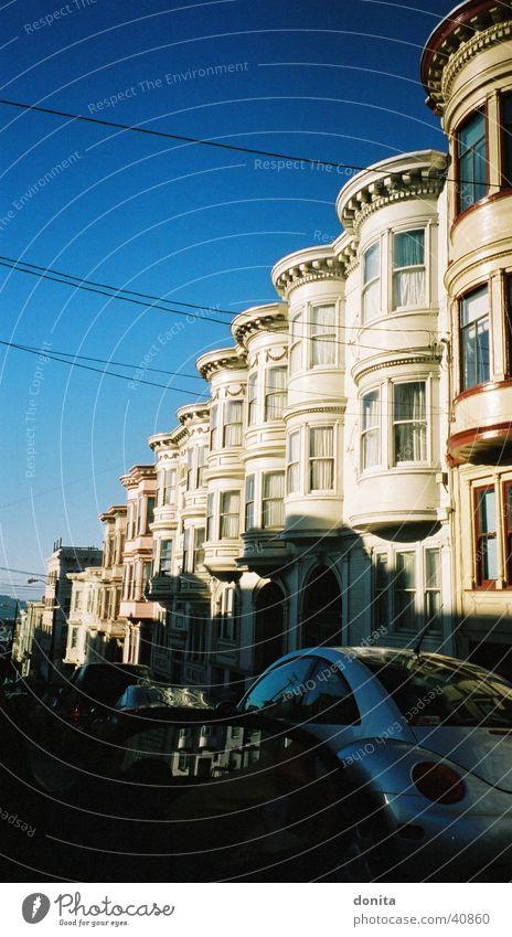 San Fancisco - MyHome Blauer Himmel Kalifornien Nordamerika San Francisco