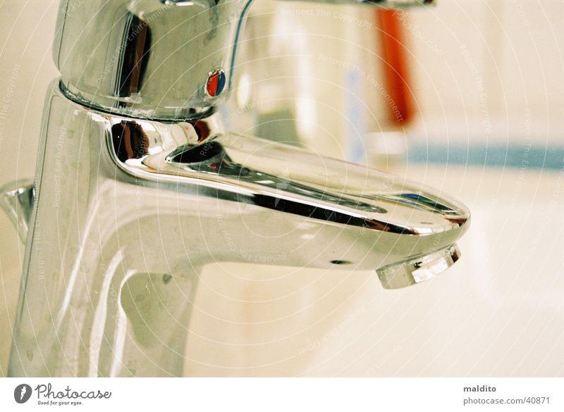 Wasserhahn Bad Häusliches Leben Waschbecken Kalk