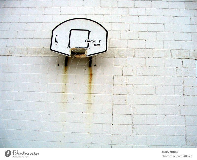 playground Korb Ghetto Basketball Wand Rost