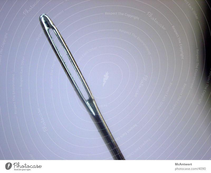 hast du aber ein grosses loch :D Dinge Nadel