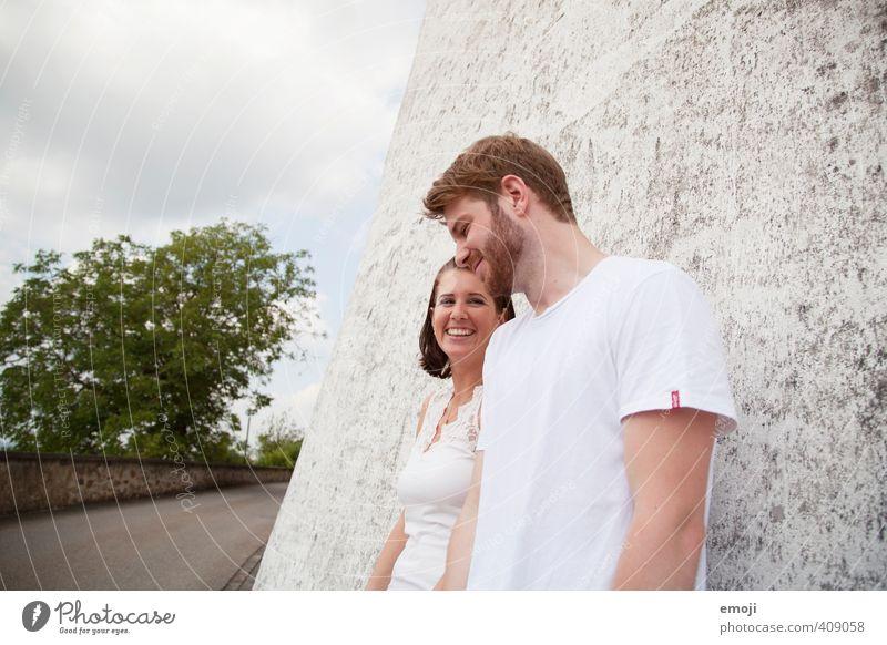 Waschmittel-Werbung Mensch Jugendliche Junge Frau Erwachsene Junger Mann 18-30 Jahre feminin natürlich Paar Freundschaft maskulin Fröhlichkeit positiv