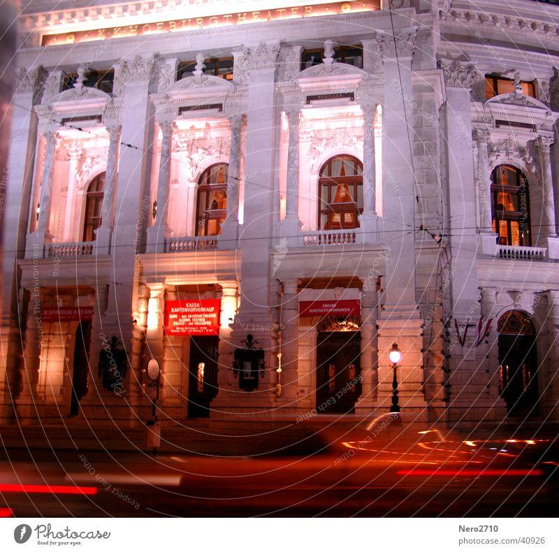 Burgtheater Kunst Architektur Wien Sehenswürdigkeit