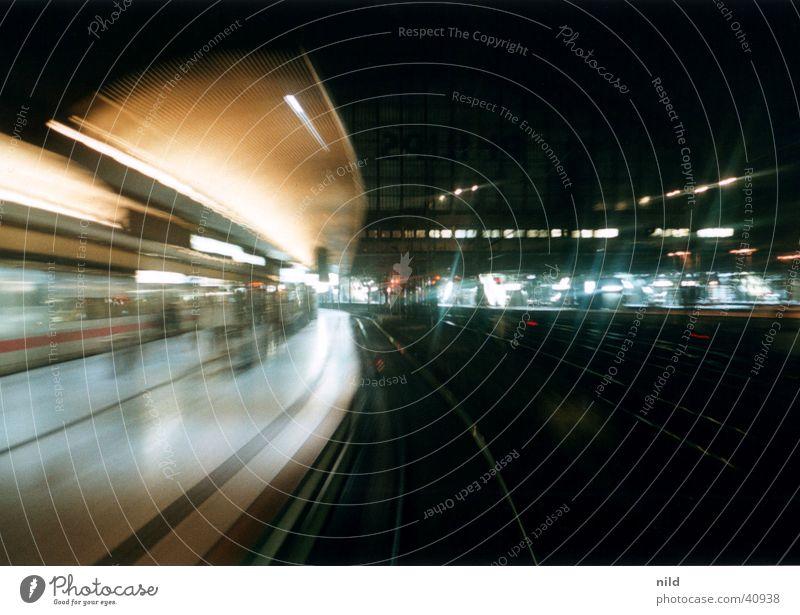 Hamburg Hauptbahnhof Stadt Stimmung Architektur Fernweh Bahnfahren
