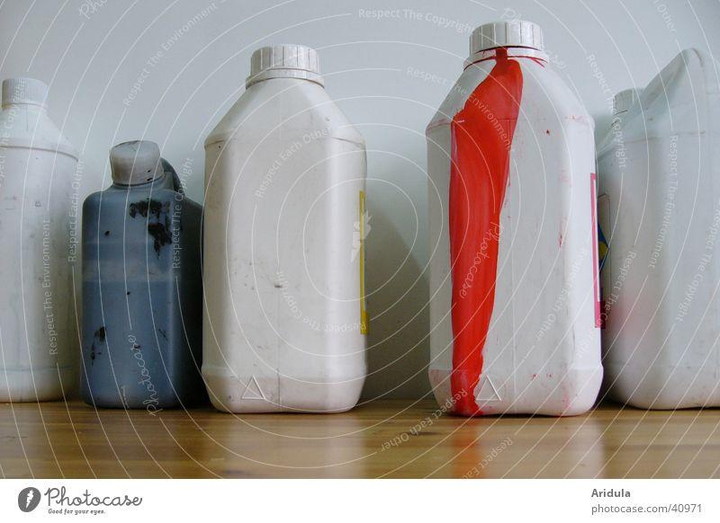 siebdruck Kanister Siebdruck neutral lichtecht Tisch rot Behälter u. Gefäße Kunst Handwerk Farbton mischen Meister Kunsthandwerker Freizeit & Hobby