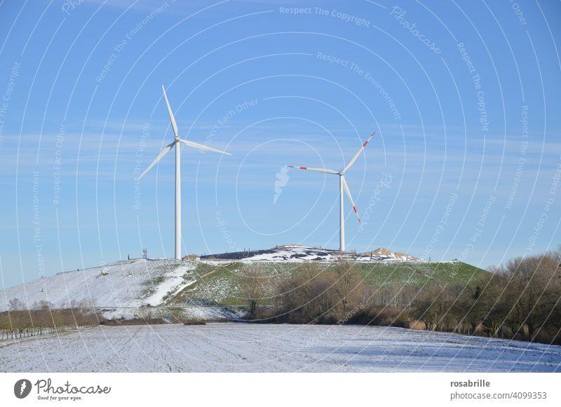 Empfehlung | mehr Strom aus erneuerbaren Energien nutzen Windkraft Windkraftanlage Windpark Umwelt umweltfreundlich Windenergieanlage Bewegungsenergie