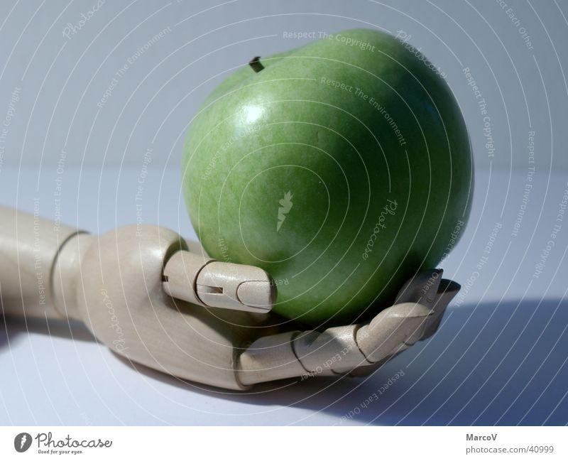 Der Apfel grün Frucht Ernährung