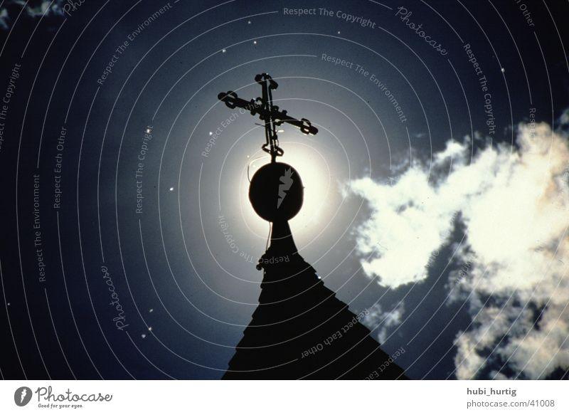 Sein Licht leuchtet auf Sonne Berge u. Gebirge Religion & Glaube Rücken Gott Götter