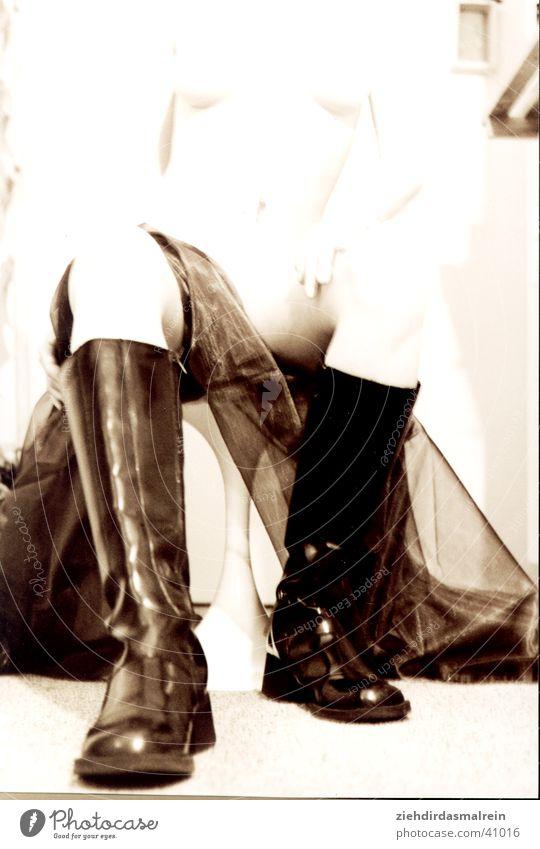 stiefel Frau Schuhe weich Stiefel Sepia