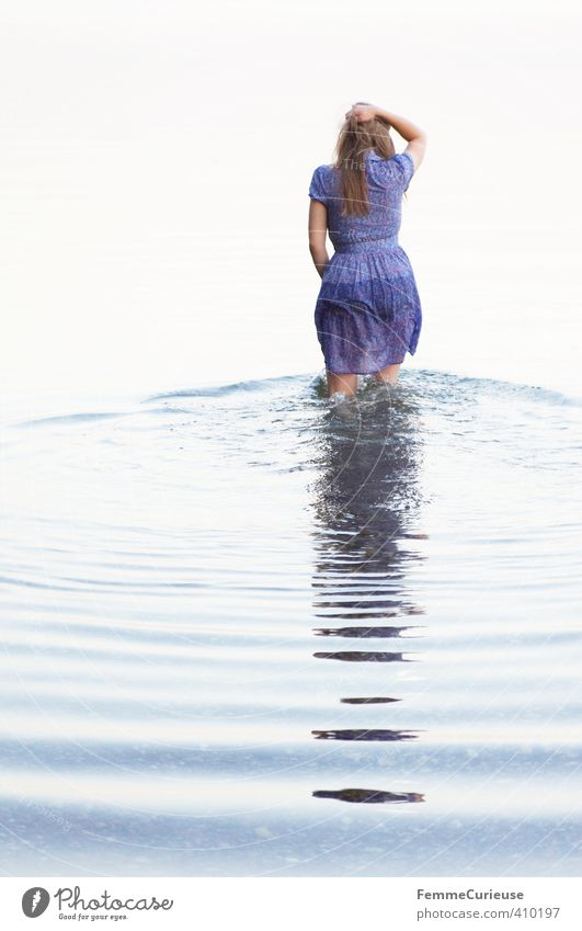 Wasserelfe (IX) Mensch Frau Natur Jugendliche schön Wasser Erholung ruhig Junge Frau Mädchen Erwachsene 18-30 Jahre Leben feminin Küste See