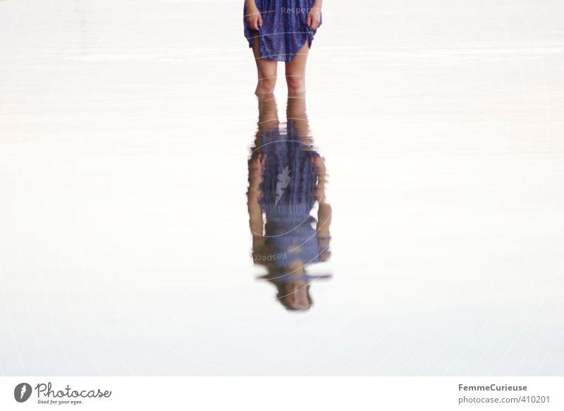 Wasserelfe (IV) Mensch Frau Natur Jugendliche blau schön Sommer Meer Erholung Mädchen Junge Frau Erwachsene 18-30 Jahre feminin Schwimmen & Baden