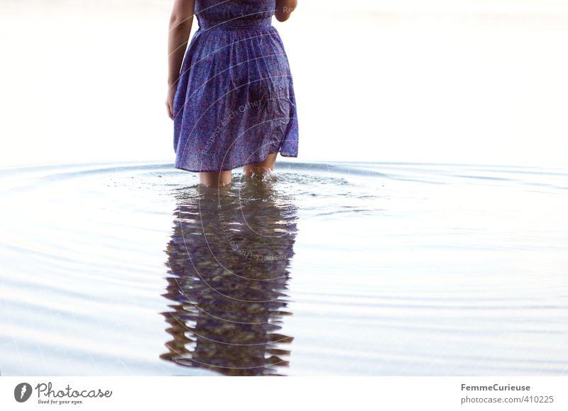 Wasserelfe (XV) Mensch Frau Natur Jugendliche schön Wasser Sommer Meer Erholung ruhig Junge Frau Mädchen Erwachsene 18-30 Jahre Leben feminin