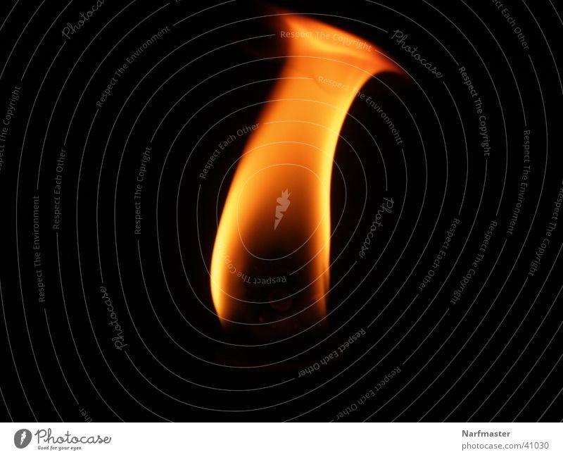 Flamme Wärme Brand Energiewirtschaft Kerze brennen Flamme Fototechnik