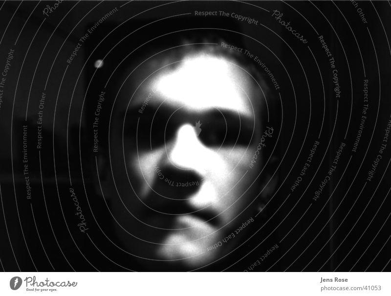 portrait Porträt Mensch Gesicht Schwarzweißfoto