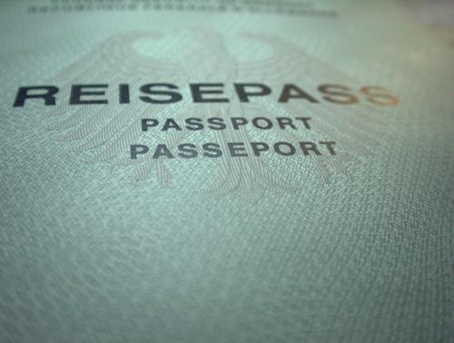 passport please Dinge Ausweis