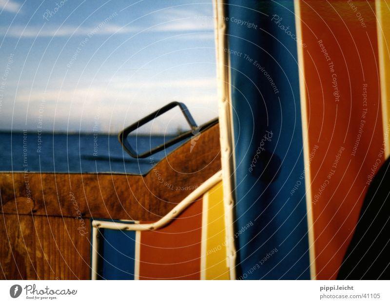 strandkorb Sonne Meer Farbe Leben Strandkorb Fototechnik