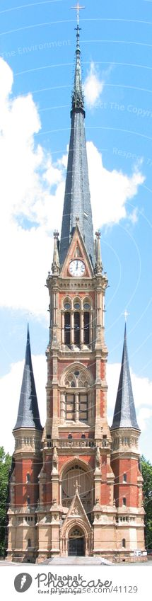 märchenschloss Himmel Haus Gebäude Religion & Glaube Architektur Uhr Burg oder Schloss Turmspitze