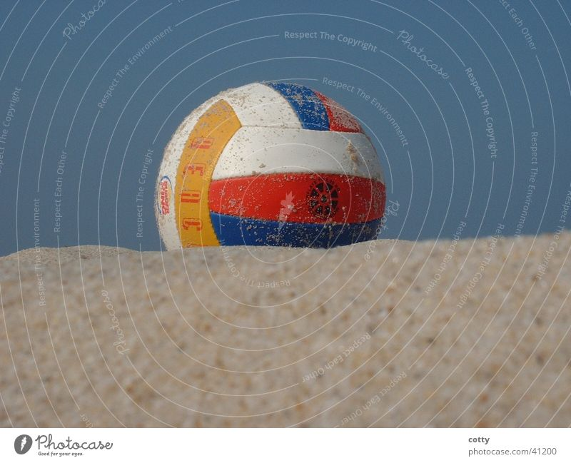 Beach Volleyball Sonne Strand Sport Sand