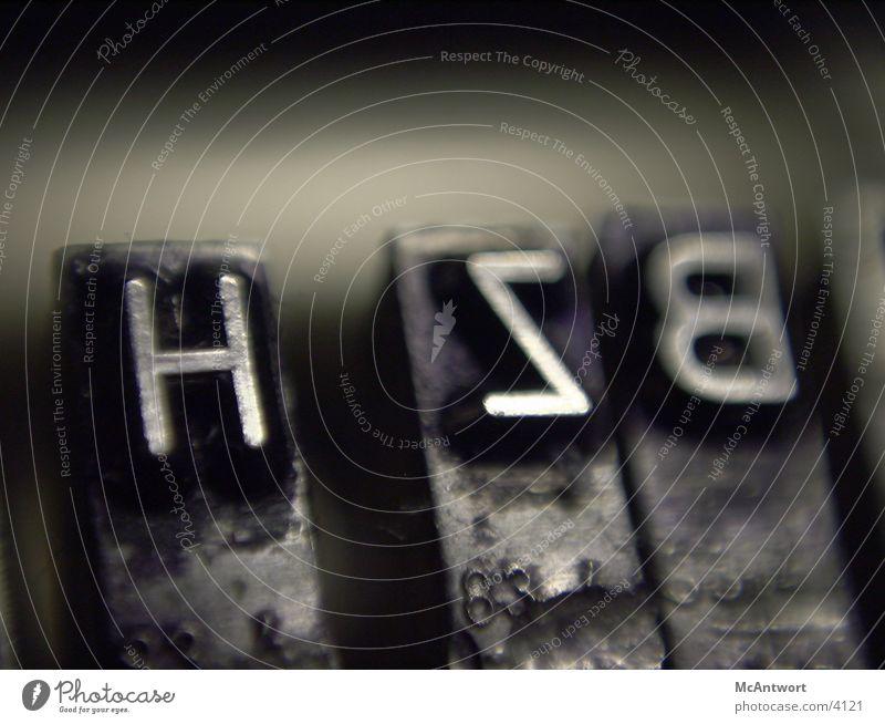typen Schreibmaschine Fototechnik letter Typographie