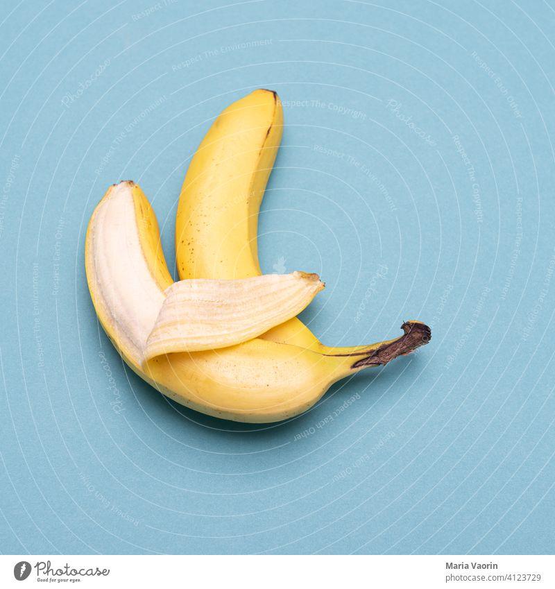 Löffelchen Sex Sexualität Menschenleer Farbfoto Erotik Liebe Lust Begierde Studioaufnahme Zusammensein Sexstellung Stellung löffelchen Banane fremdgehen