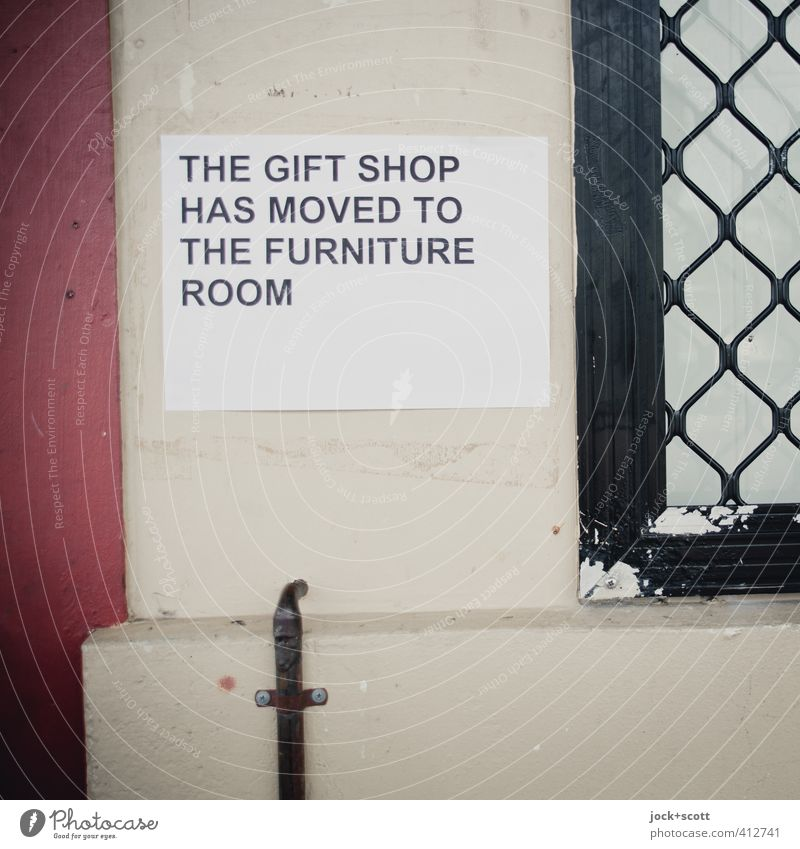 Gift Shop Ferne Wand Stil Mauer einfach Papier Geschenk Wandel & Veränderung Freundlichkeit kaufen planen Neugier neu Möbel fest Dienstleistungsgewerbe