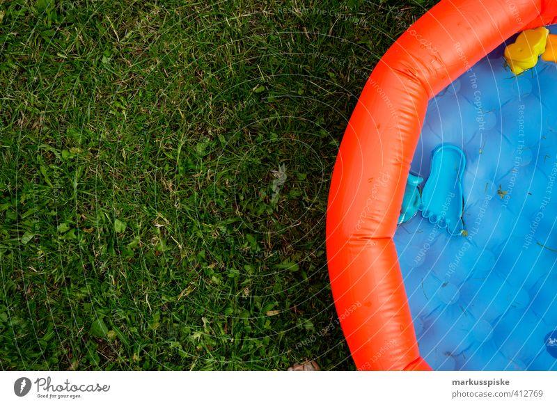 pool Kind Ferien & Urlaub & Reisen Sonne Freude Haus Spielen lustig Schwimmen & Baden Glück Feste & Feiern Garten Freizeit & Hobby Kindheit sitzen