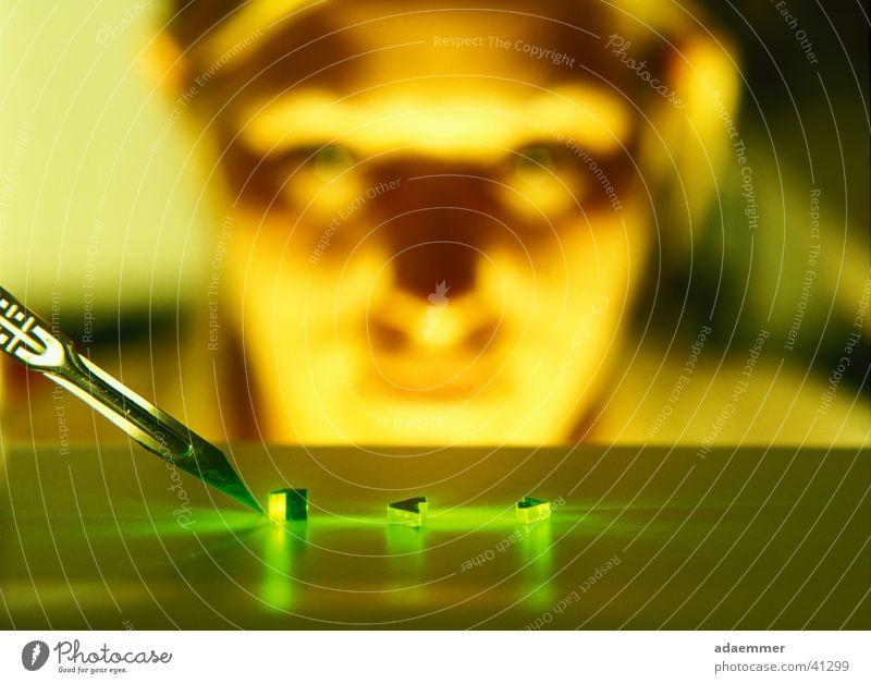 grün Wissenschaften Laser Prisma Skalpell