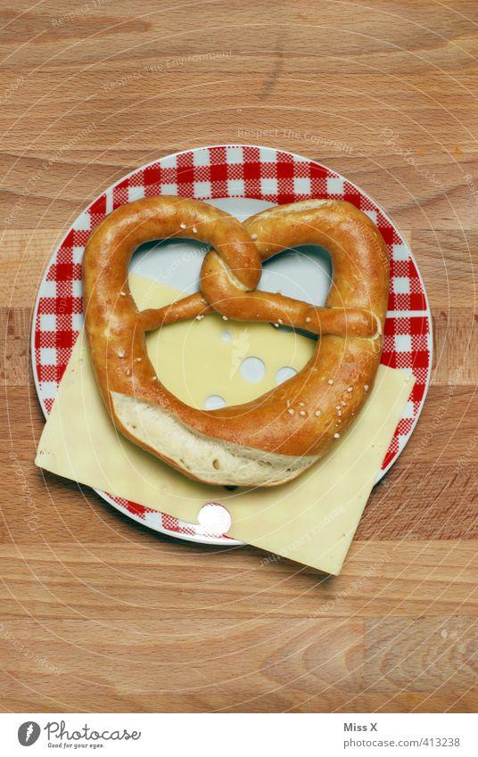 Brotzeit Essen Deutschland Lebensmittel Foodfotografie Ernährung Pause Appetit & Hunger lecker Restaurant Teller Bayern Abendessen kariert Mahlzeit Backwaren
