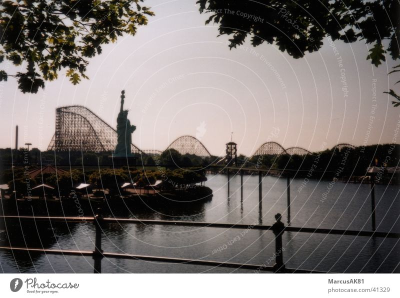 Rollercoaster Achterbahn Europa Heidepark Kolossus