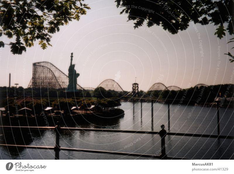 Rollercoaster Europa Achterbahn