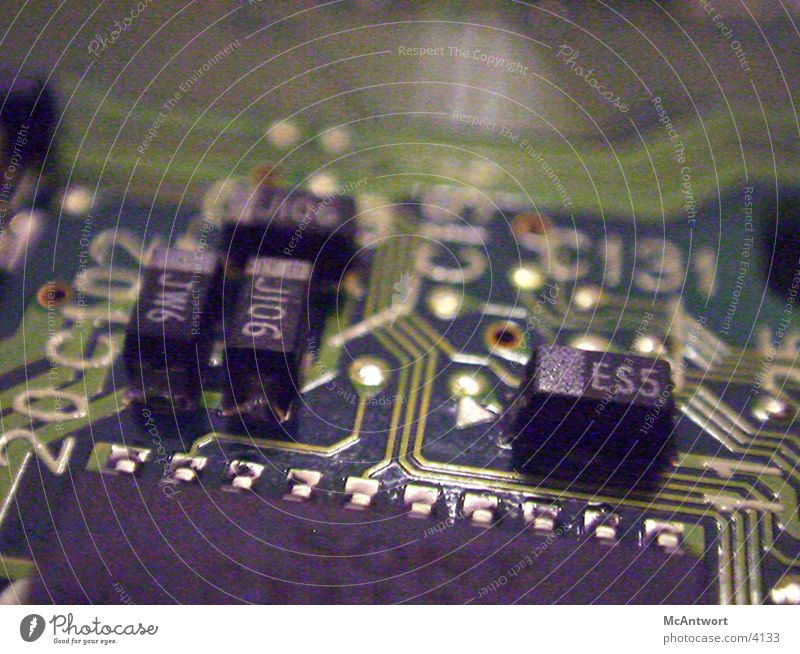 platine SMS Platine Stromkreis Elektrisches Gerät Technik & Technologie Hardware