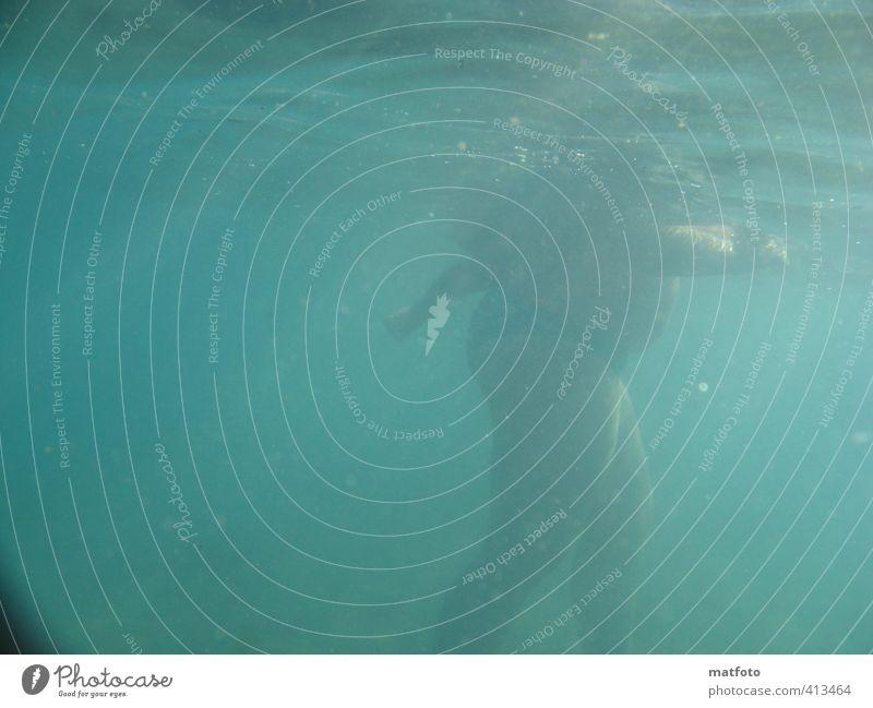 Aquajogging Mensch Frau Jugendliche Ferien & Urlaub & Reisen Meer Erholung Freude Strand Erwachsene 18-30 Jahre Sport feminin Bewegung Schwimmen & Baden Beine