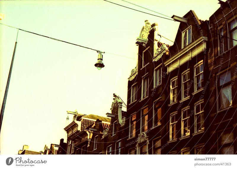 Amsterdam Laterne Morgen Europa Strassenansicht