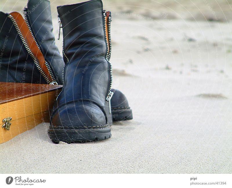 stinkstiefel? Strand Ferien & Urlaub & Reisen Sand Bekleidung Freizeit & Hobby Stillleben Nordsee Meer