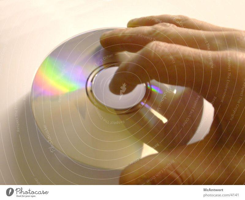 disk Hand Technik & Technologie Compact Disc Datenträger Elektrisches Gerät
