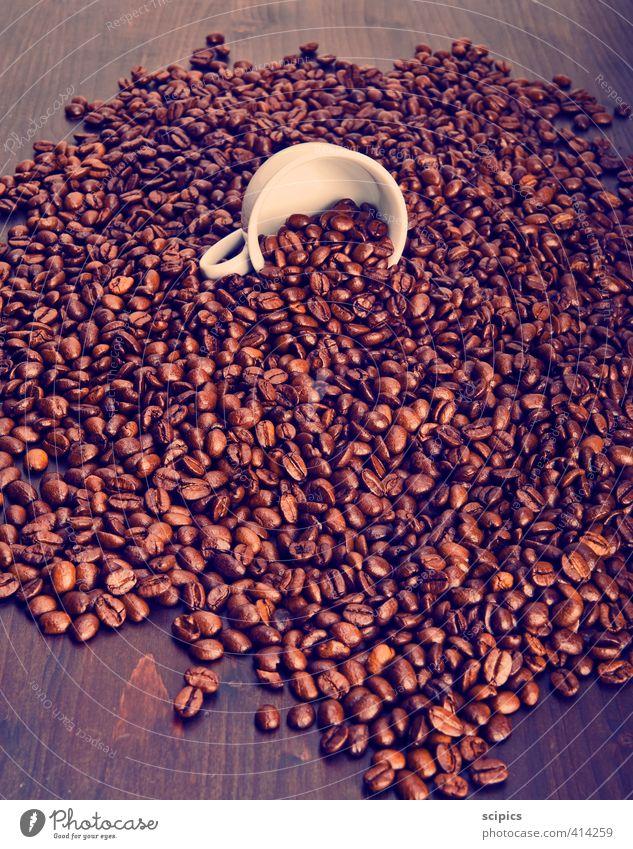 Tasse Kaffee Erholung Wärme Gesundheit Holz braun Fröhlichkeit Lebensfreude schlafen Pause Getränk lecker heiß Duft Wachsamkeit Geschirr