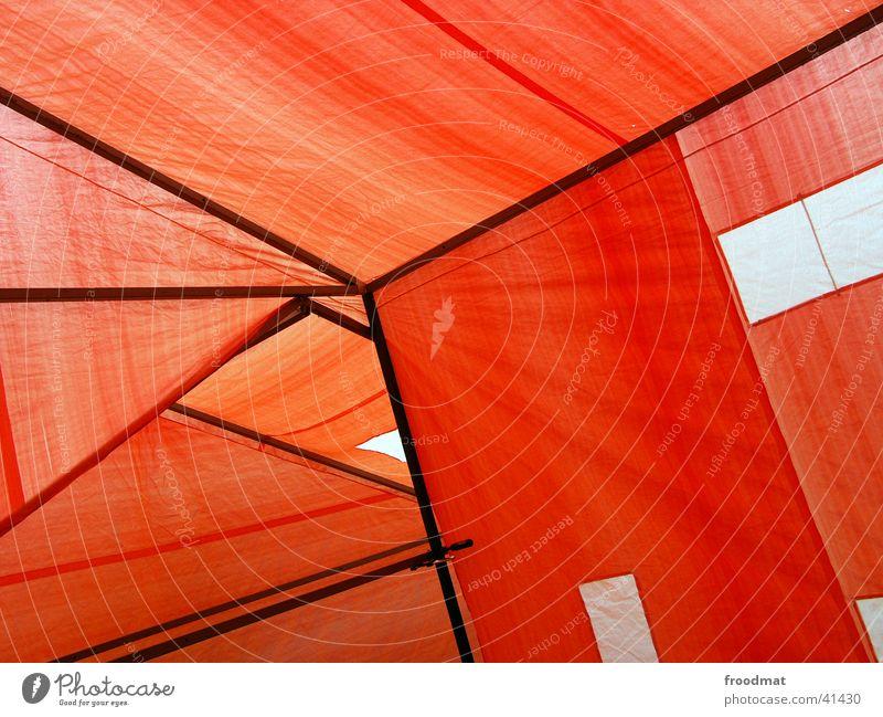 Zeltabstrakt chaotisch Kubismus Dreieck Geometrie graphisch Zeltstangen Zeltplane Asymmetrie Hintergrundbild Kunstausstellung Kunstwerk