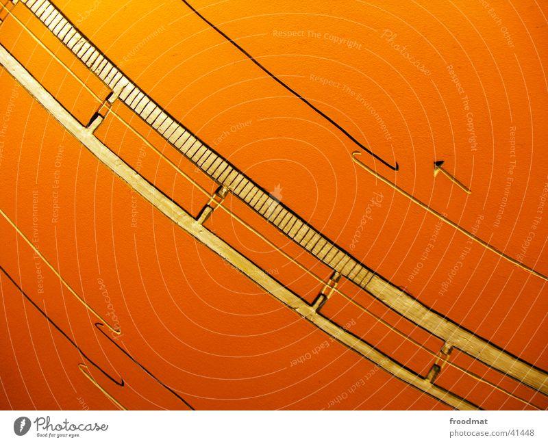 Linienführung Stil Kunst nah Pfeil diagonal Geometrie Fototechnik schwungvoll