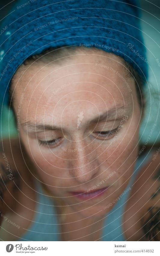 You might have succeeded in changing me Mensch Frau Jugendliche Einsamkeit Erwachsene Gesicht Auge 18-30 Jahre Leben Gefühle feminin Traurigkeit Stil natürlich nachdenklich Lifestyle